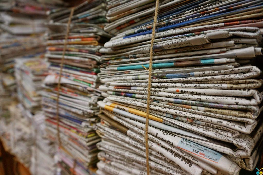 Bundels kranten