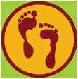 Ommetjes voeten logo