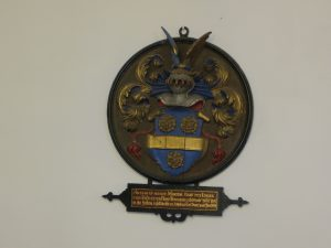 Walfriduskerk: oudste wapenbord provincie Groningen: Frans Rengers