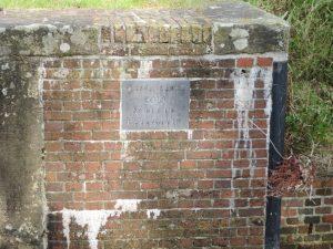 Haanssluis: steen over restauratie in 2010
