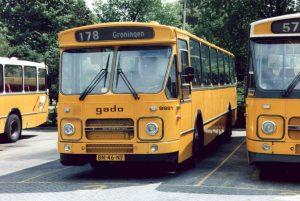 Gado buslijn 178 op busstation Appingedam
