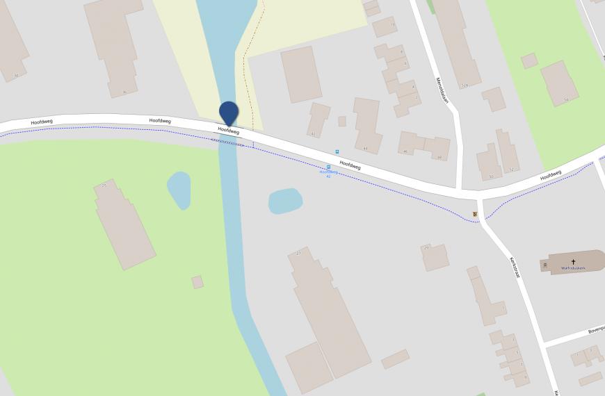 Verkeershinder brug Haansvaart 30 juni