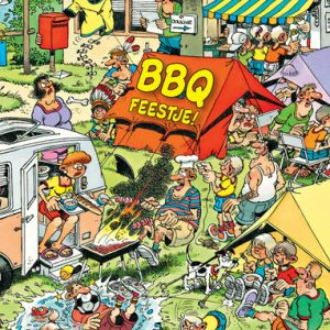 Kinderspeelweek 2021: BBQ feestje