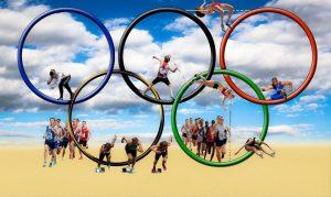Kinderspeelweek 2021: Olympische ringen