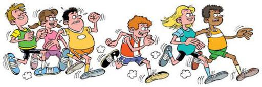 Kinderspeelweek 2021: cartoon hardlopers
