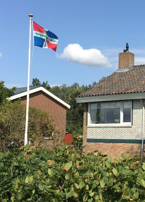 Aardbevingsvlag in Steendam