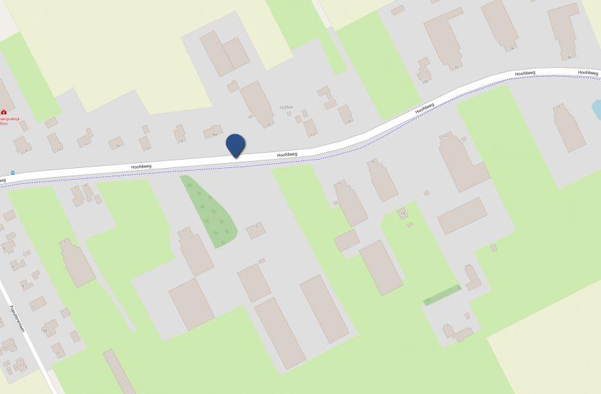 Verkeershinder ter hoogte van Hoofdweg 13 van 20 september t/m 22 oktober