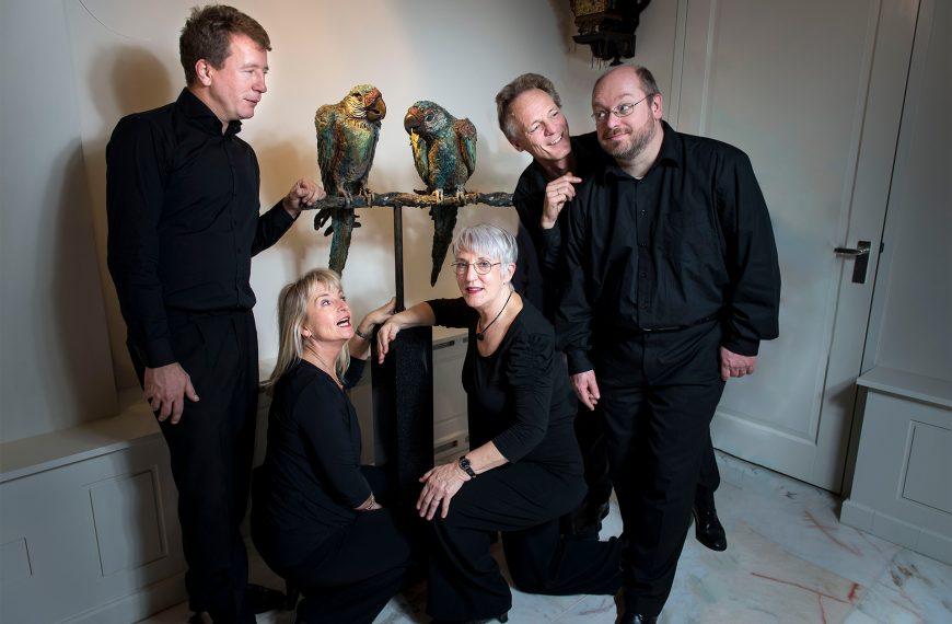 """Optreden muziekaal cabaret """"Ongestoord genieten"""" van Flexwerk in de Walfriduskerk op 31 oktober"""